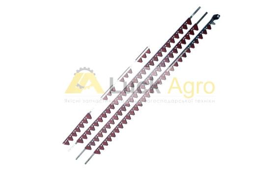 Коса жатки CL SEG/7.50м/630891 AGV Головка 666743/сегмент 611203-довж.упаковки 2,61м CLAAS
